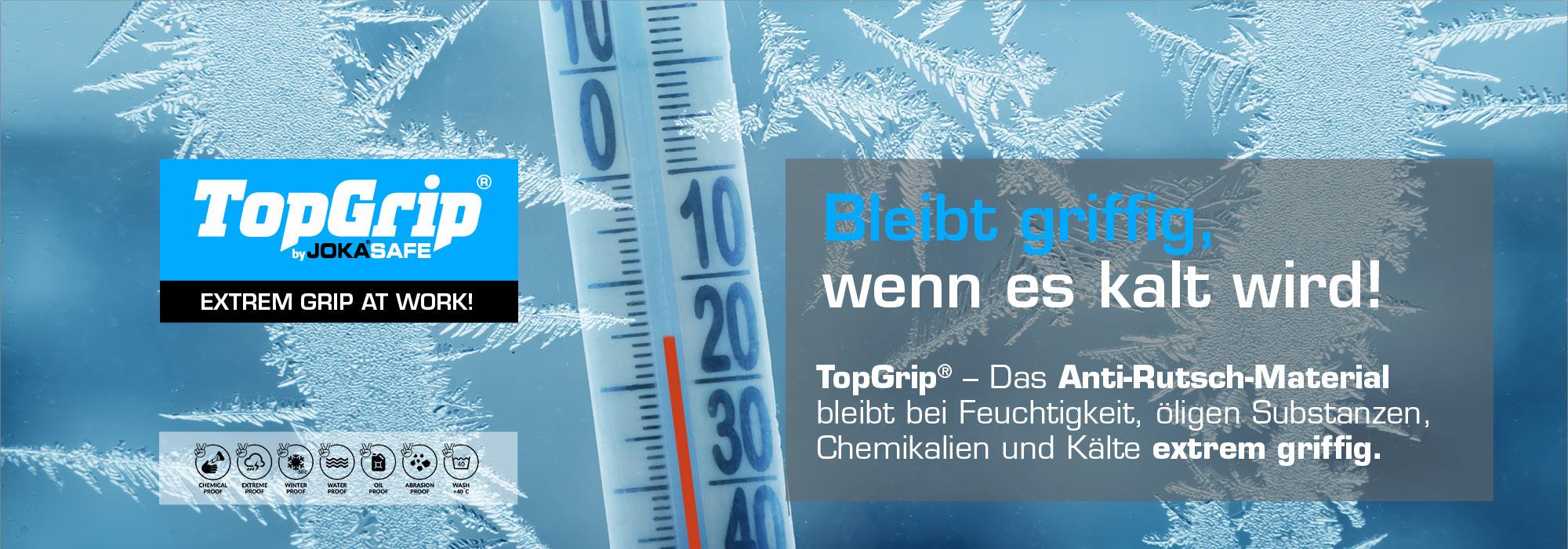 TopGrip - Bleibt griffig, wenn es kalt wird!